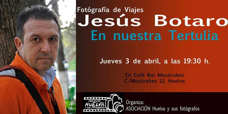Cartel convocatoria Tertulia Fotográfica del 3 de abril