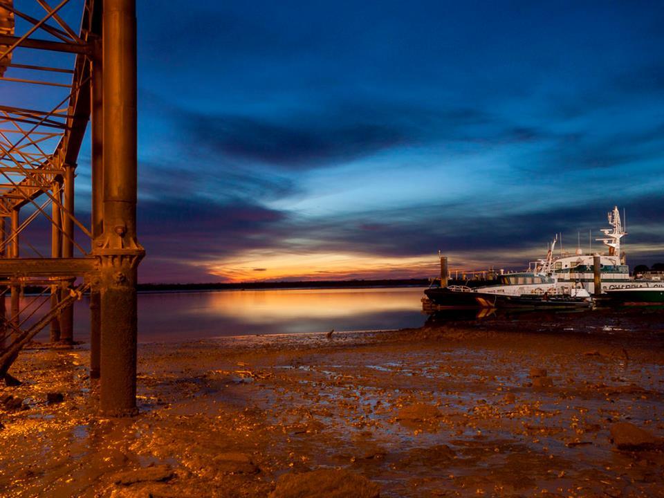 Bajamar. Fotografía premiada en el mes de febrero, de Francisco J. Falcón Blanco