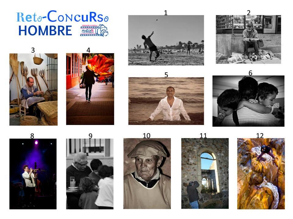 Fotografías del Reto-Concurso HOMBRE