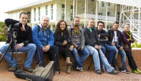 Grupo de la Quedada en Punta Umbría. Fotografía Juana Martín
