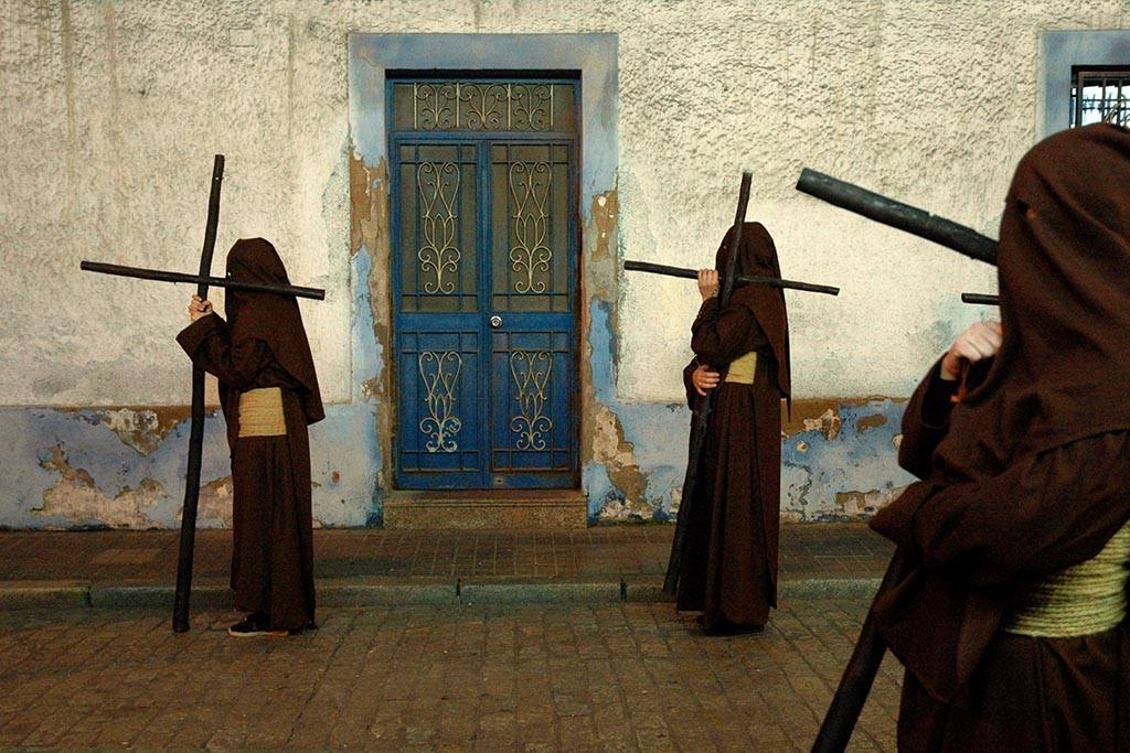 Fotografía Pilar Rodríguez Barranco. 3º Premio del  2º Certamen Fotográfico de Semana Santa COPE Huelva. Hermandad del Cristo del Calvario