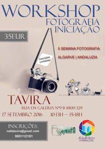 Workshop Fotografia Iniciaçao Tavira