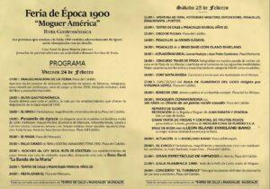 programa moguer feria época 1900