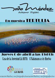 Cartel Tertulia Toño Méndez